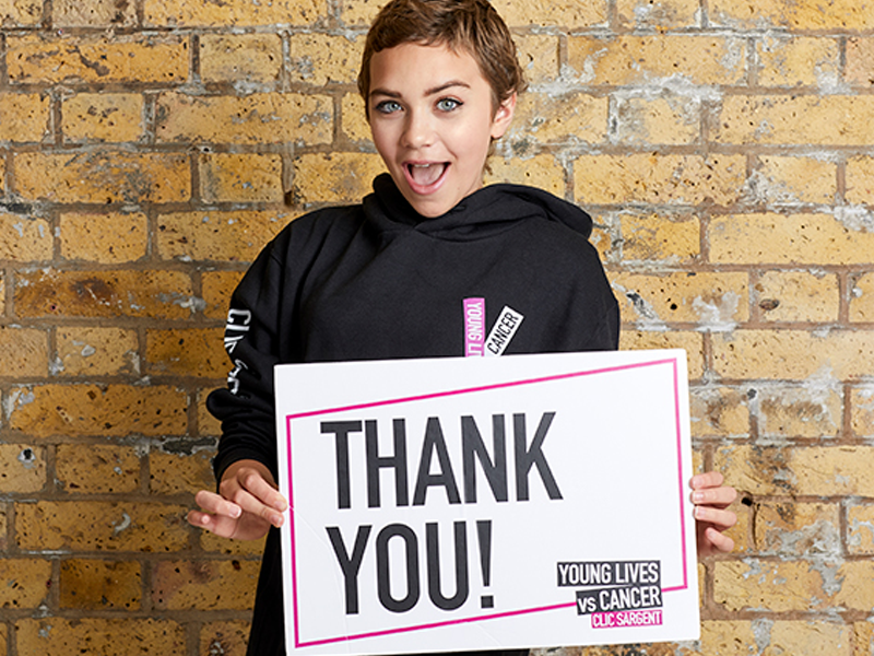 Incaloop to help top UK cancer charity CLIC Sargent